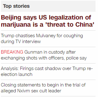 Top News Stories