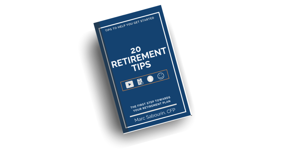20 Retirement Tips Guide Cover