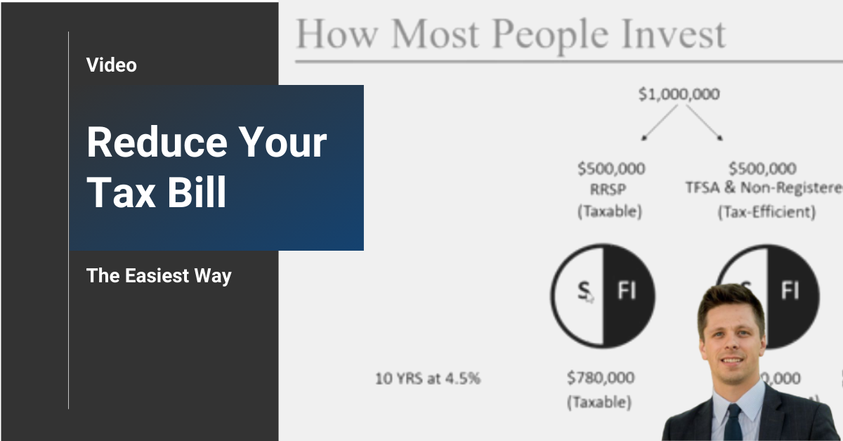 The Easiest Way to Reduce Your Tax Bill